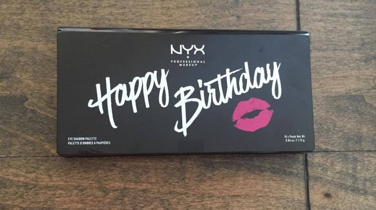 nyx happy birthday palette